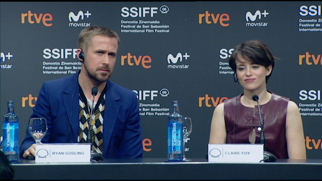 Press Conference ''FIRST MAN'' (Pearls)