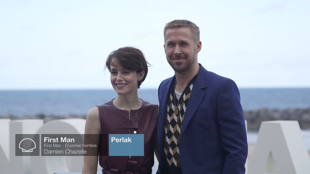 Photocall: ''FIRST MAN'' (Perlas)