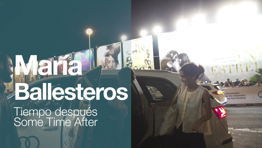 ''MARÍA BALLESTEROS''-en iristea ''TIEMPO DESPUÉS'' (S.O)