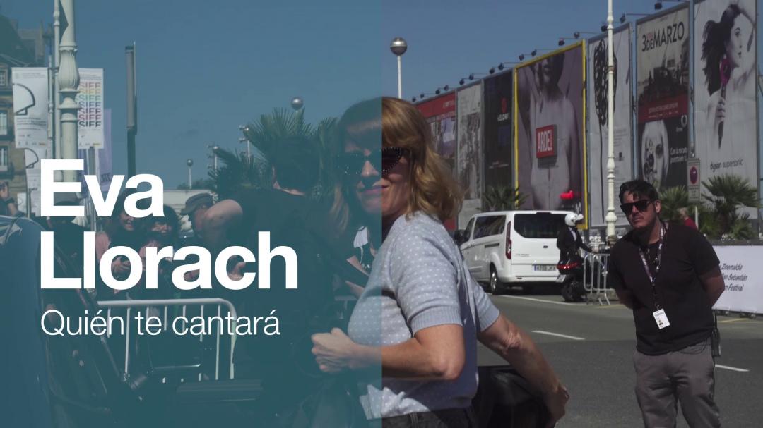 Arrival of ''EVA LLORACH'' ''QUIÉN TE CANTARÁ'' (O.S)