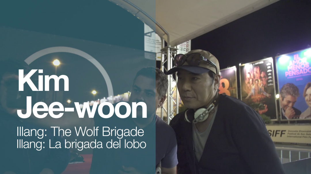 Arrival of ''KIM JEE-WOON'' ''ILLANG: THE WOLF BRIGADE'' (O.S)