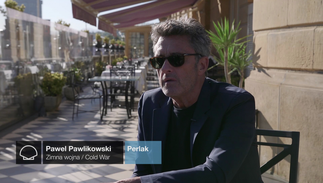 ''PAWEL PAWLIKOWSKI''-ri elkarrizketa ''ZIMNA WOJNA/COLD WATER'' (Perlak)