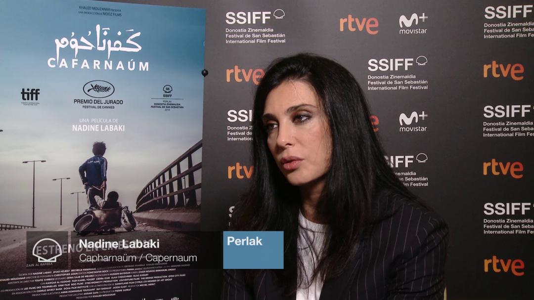 Entrevista a ''NADINE LABAKI'' (Perlas)