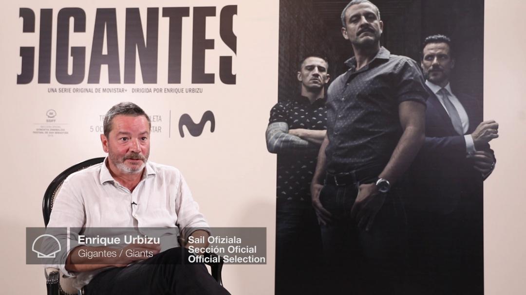 Interview to ''ENRIQUE URBIZU'' (O.S)