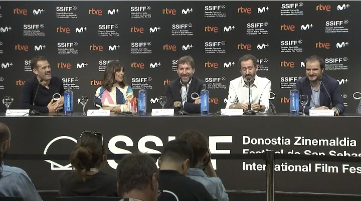 Press Conference ''LA TRINCHERA INFINITA / THE ENDLESS TRENCH'' (O.S)