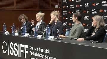 Press Conference ''DAS VORSPIEL / THE AUDITION'' (O.S)