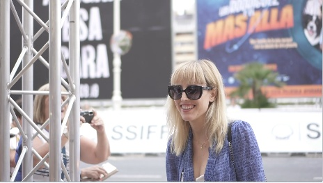 Arrival of Natalia de Molina  ''ADIÓS / ADIOS'' (Gala RTVE)