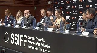 Press Conference ''A DARK-DARK MAN'' (O.S)