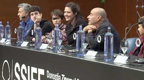 Press Conference ''LA HIJA DE UN LADRÓN / A THIEF'S DAUGHTER'' (O.S)