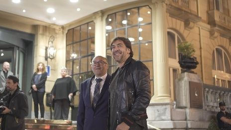 Arrival of Javier Bardem ''SANCTUARY'' (Santuario) (Other activities)