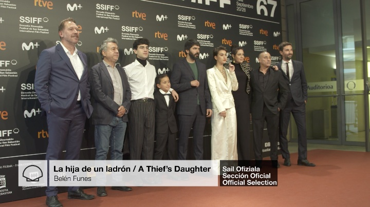 Red Carpet ''LA HIJA DE UN LADRON / A THIEF'S DAUGHTER'' (O.S)
