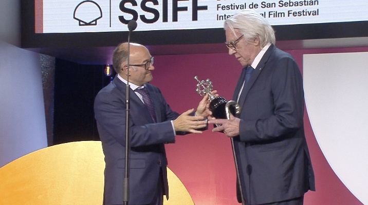 Donostia Award-giving Ceremony ''Donald Sutherland''
