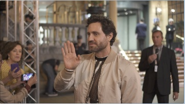 Arrival of Edgar Ramirez ''WASP NETWORK'' (La red avispa) (P.P.D)