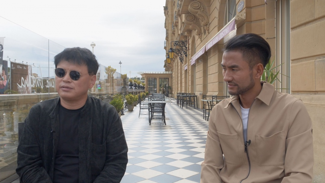Interview ''Lhamo and Skalbe'' (O.S.)