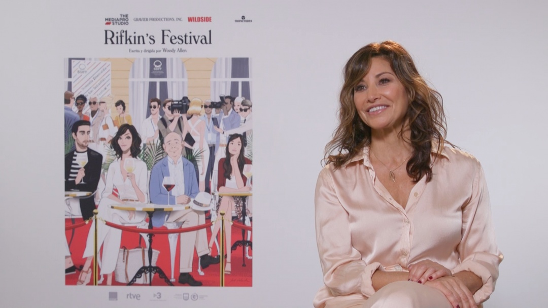 Interview ''RIFKIN'S FESTIVAL'' (O.S.)