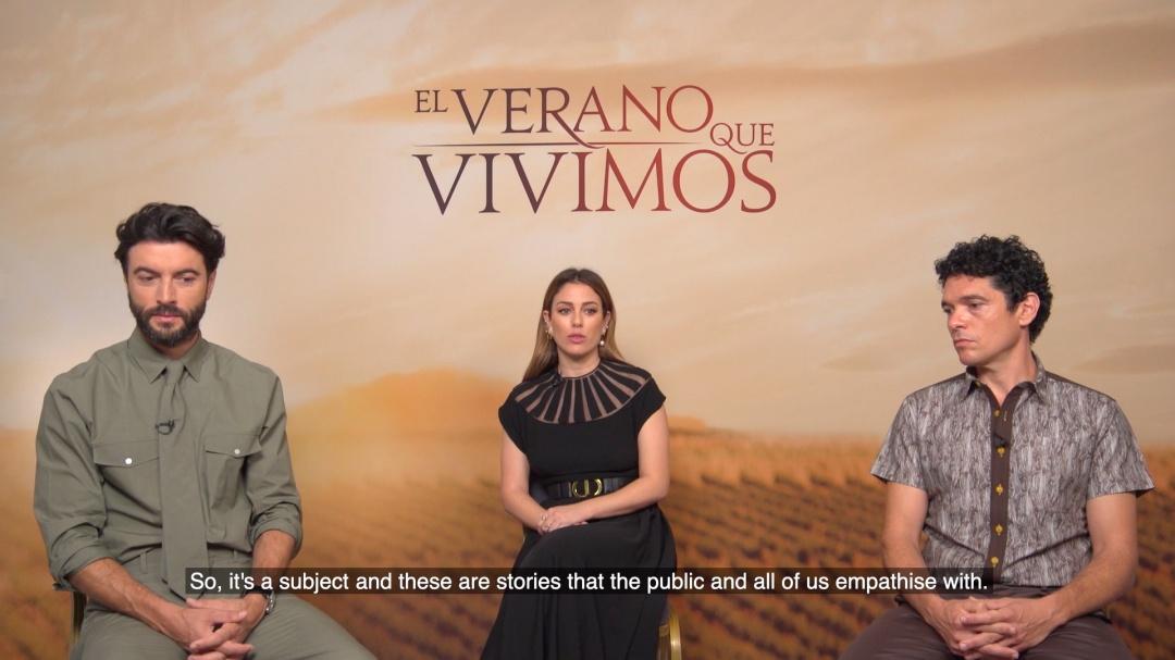 Interview ''EL VERANO QUE VIVIMOS'' (C.G.)