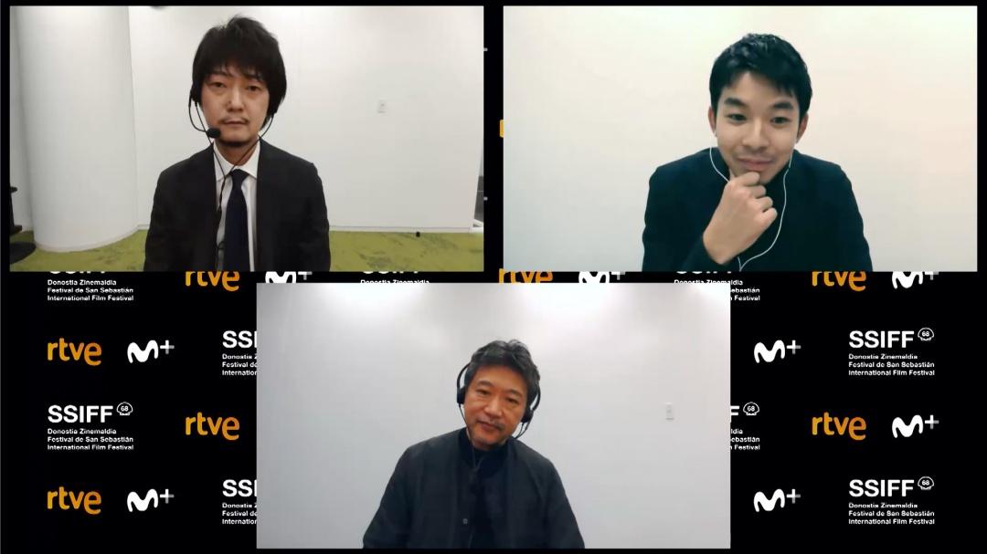 Press Conference ''NAKUKO WA INEEGA / ANY CRYBABIES AROUND?'' (O.S.)