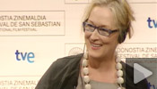 Press conference Donostia Award Meryl Streep (english)