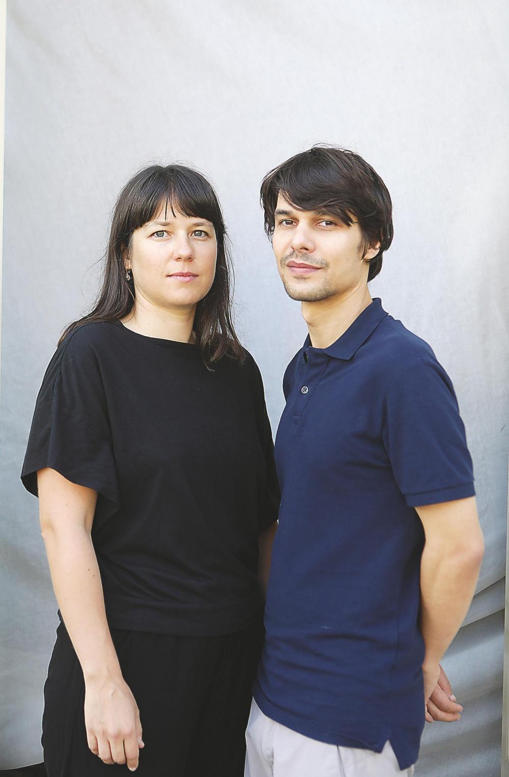 Los directores Maya Kosa y Sergio da Costa.
