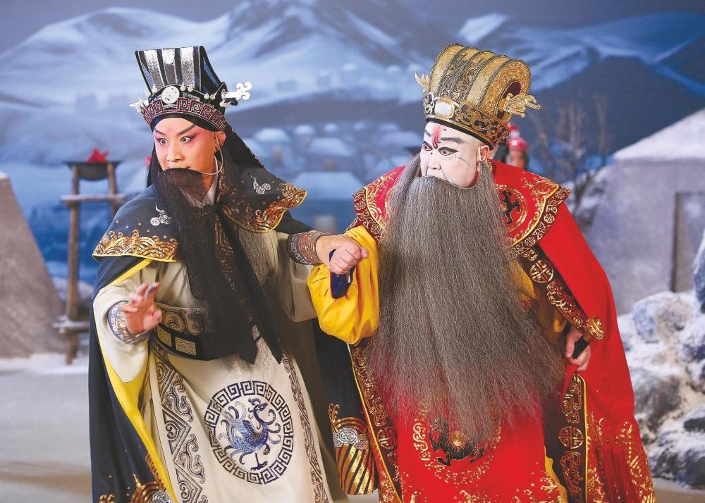 Cao cao and Yang Xiu.