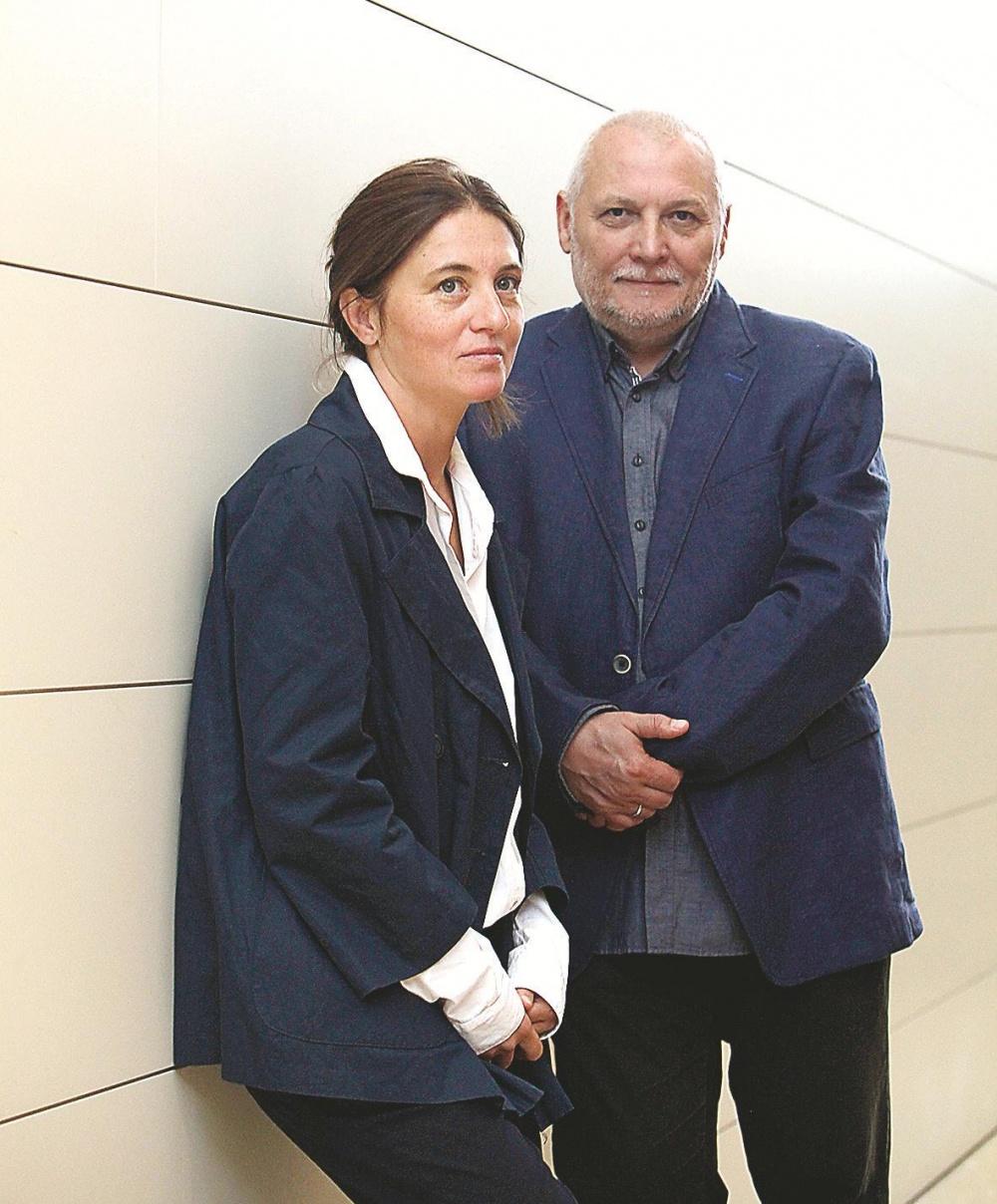 Svetla Tsotsorkova y Svetoslav Ovcharov.