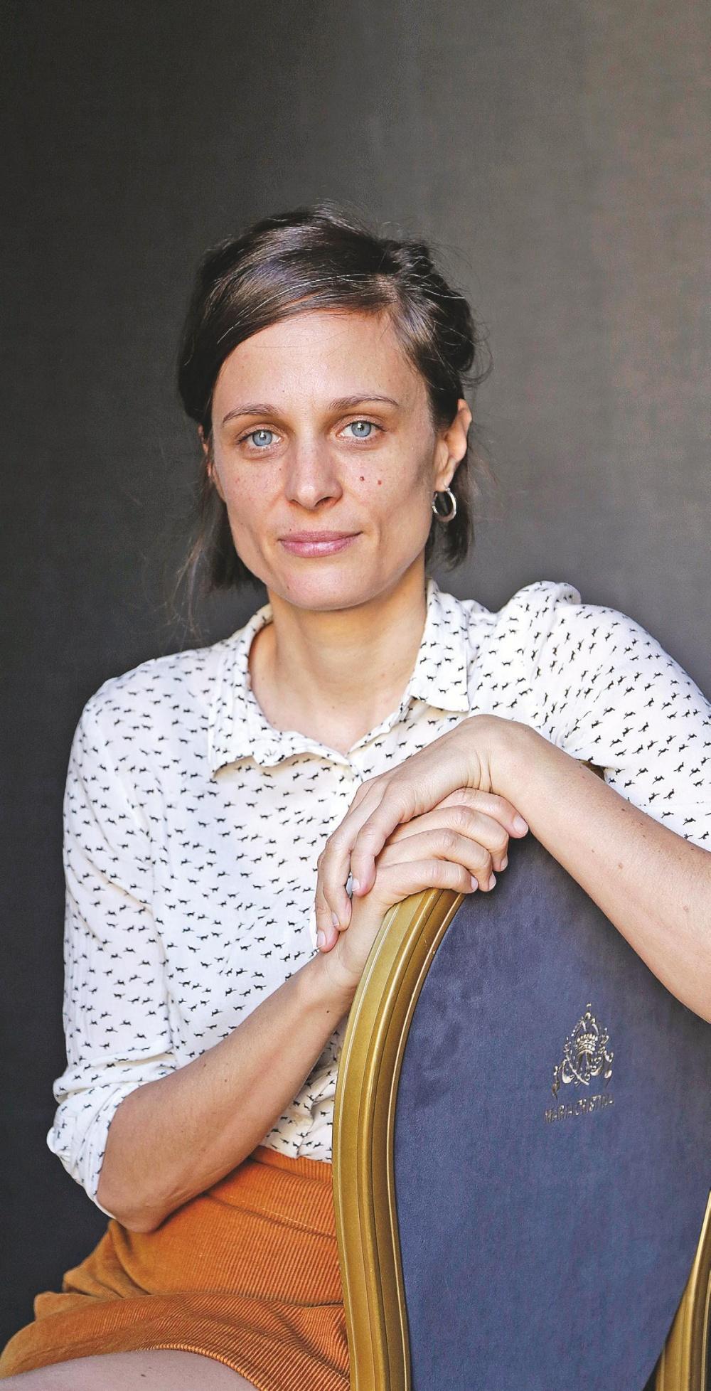Romina Paula, directora de la película.