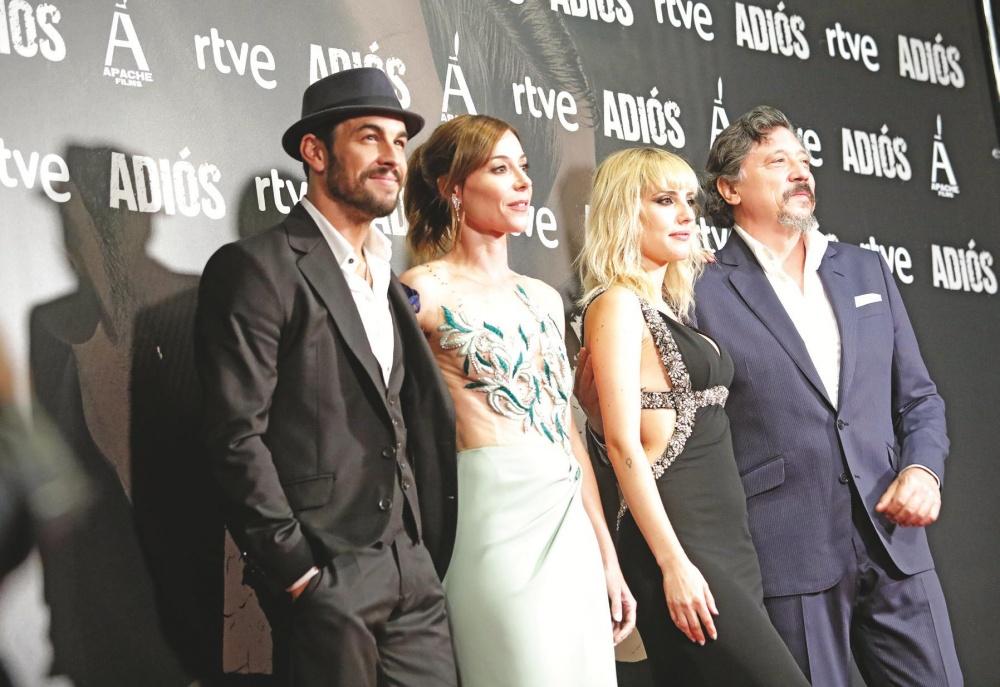 Mario Casas, Ruth Díaz, Natalia de Molina y Carlos Bardem.