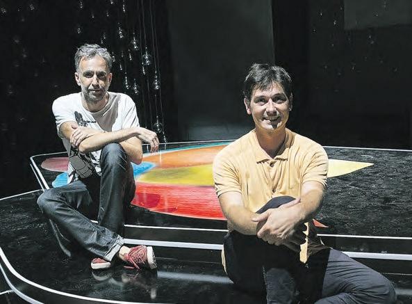 Harkaitz Cano y Jon Maya, responsables de las galas de este año.