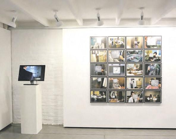 La obra de Sergio Belinchón se basa en un reportaje publicitario y las tomas falsas.