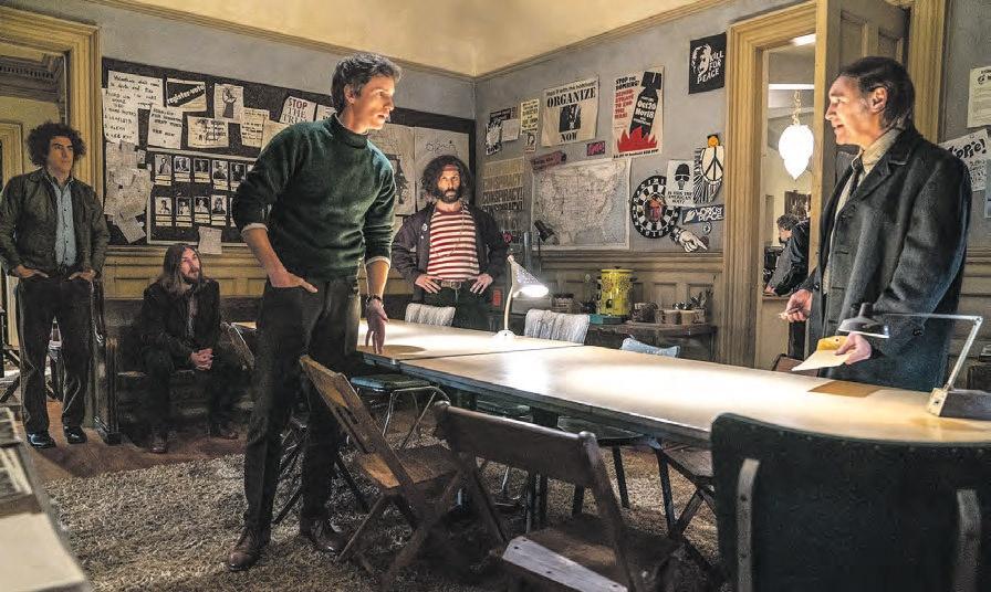 The Trial of Chicago 7, película de inminente estreno en Netflix de Aaron Sorkin.