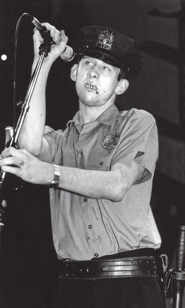 Shane MacGowan, líder de The Pogues.