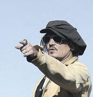 Johnny Depp, productor y viejo amigo de Shane  MacGowan.