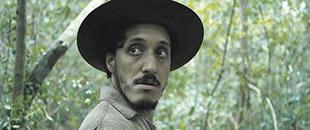 El actor Lázaro Gabino, protagonista de la película.