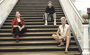 Tomás Paula Marques, Viktor van der Valk y Francy Fabritz, el jurado de Nest.