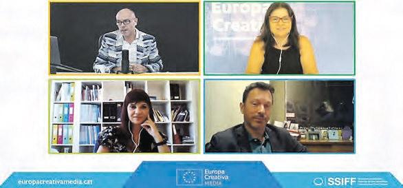 Alex Navarro, Victoria Fernández Andrino, Ainhoa González Sanchiz y Peter Andermatt.