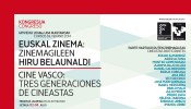 The San Sebastian Festival and San Sebastian 2016 subscribe to a 50% registration discount for the congress �Basque cinema: three generations of filmmakers� organised by the Filmoteca Vasca. A draw will be mad among all those registered for 10 vouchers for films at the Festival.