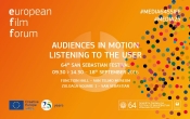 The San Sebastian Festival and Creative Europe MEDIA organize the second edition of ''Audiences in motion''