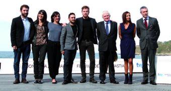 The crew of the film. (Iñaki Pardo)