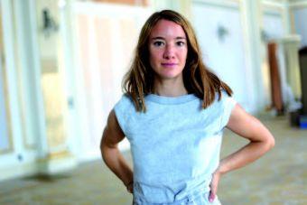 Friederike Jehn, realizadora de Summer Outside. (Iñigo Ibañez)