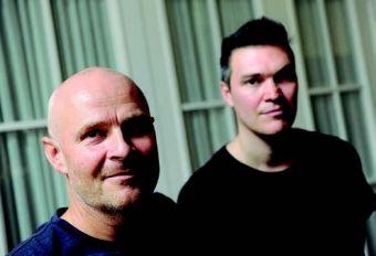 Henrik Stockare y Thomas Jackson, dos de los tres realizadores del documental.