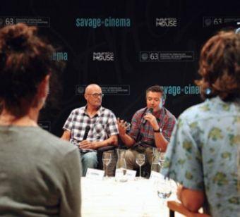 Un momento de la presentación de Savage Cinema.