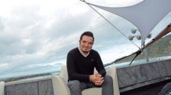 Alberto Baamonde, director del documental Cocinando en el fin del mundo.