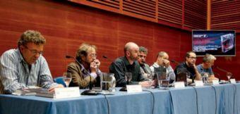 """Presentación del libro """"Cine Vasco: tres generaciones de cineastas""""."""