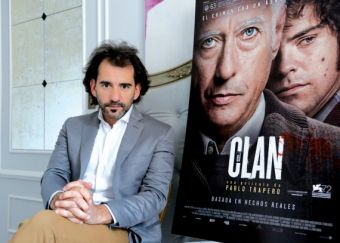 Pablo Trapero, director de El Clan, en el María Cristina.