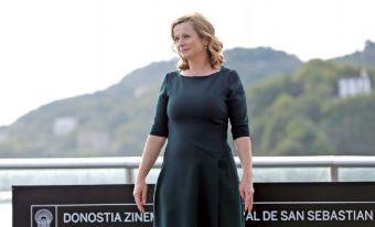 Emily Watson in San Sebastian.
