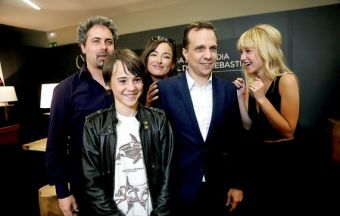 The group of Les Démons film in Kursaal.