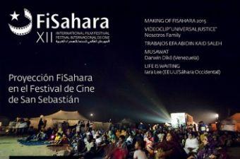 Cartel del festival FiSahara.