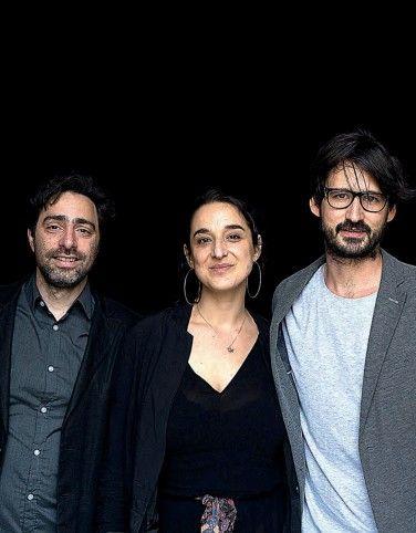 Productores Federico Eibuszyc y Bárbara Sarasola-Day y director Ulises Porra.