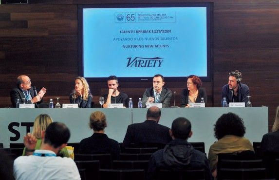 Nurturing New Talents – Panel Fostered by Variety.
