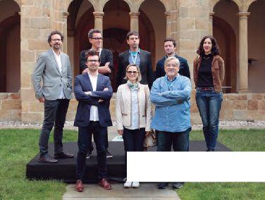 Los programadores internacionales presentes en el Festival.